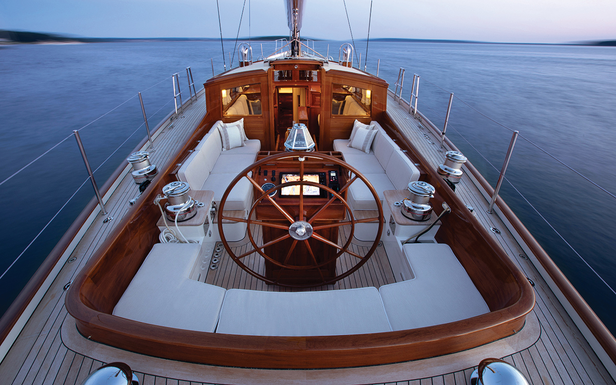 Anna: The modern classic yacht that conceals some serious technology